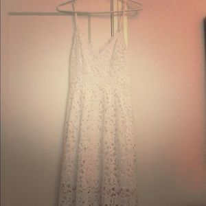 White Lace ASTR The Label Dress